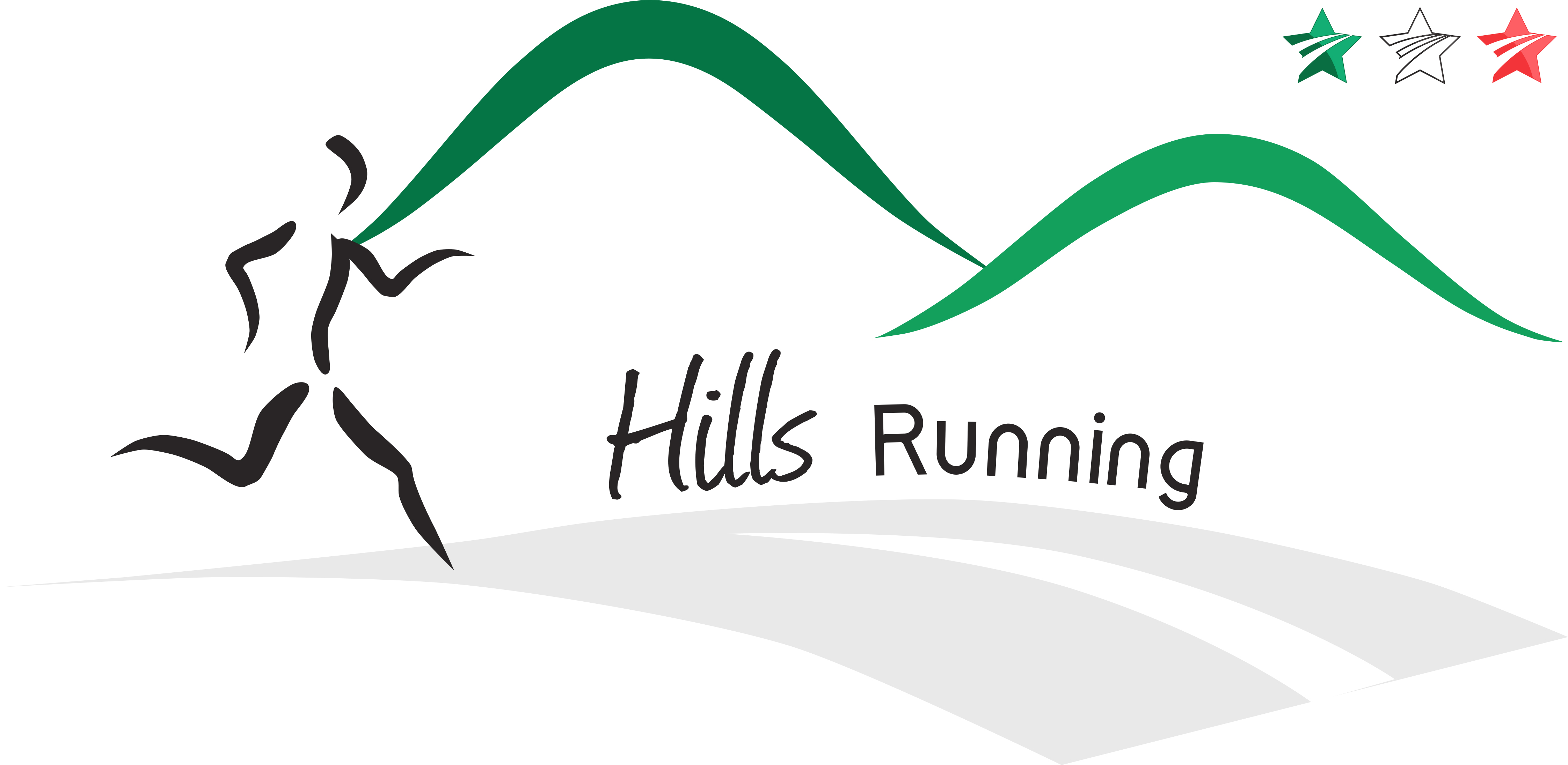 logo hills nordic walking