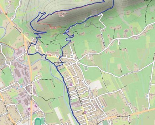 percorso monte villa1